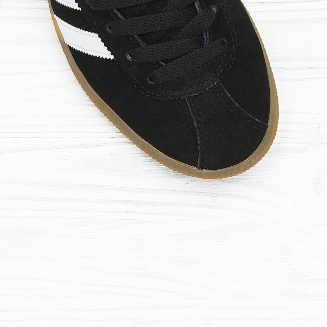 Кроссовки Adidas MÜNCHEN Core Black/Footwear White/Gum - Фото 4