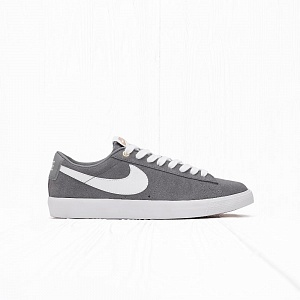 Кеды Nike SB BLAZER LOW GT Cool Grey/Tide Pool Blue/White