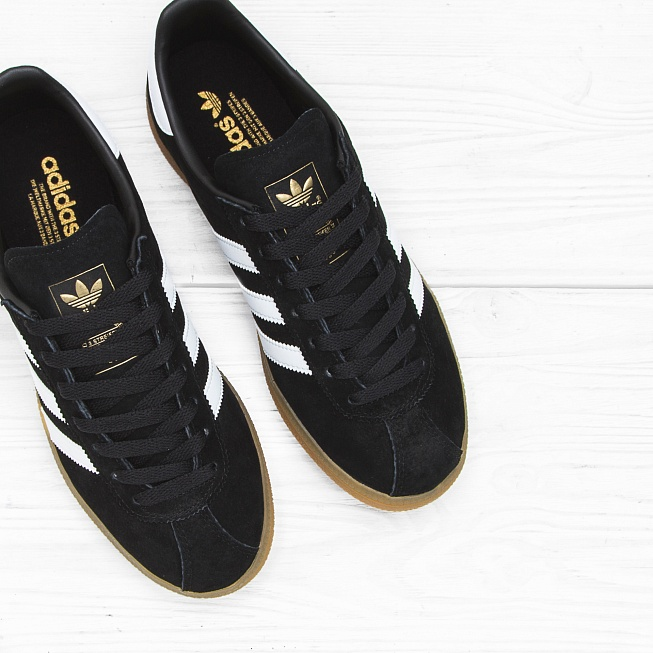 Кроссовки Adidas MÜNCHEN Core Black/Footwear White/Gum - Фото 3