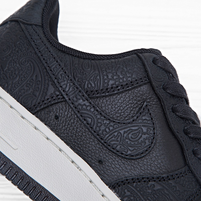 Кроссовки Nike W AIR FORCE 1 07 PRM ESS Black/Black-Light Bone - Фото 5