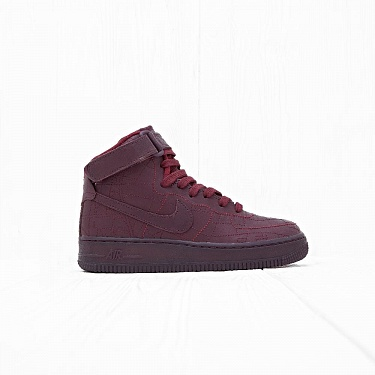 Кроссовки Nike WMNS AIR FORCE 1 HI FW QS Deep Burgundy