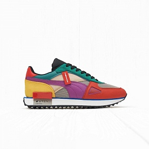 Кроссовки Puma x The Hundreds FUTURE RIDER Molten Lava Amethyst White