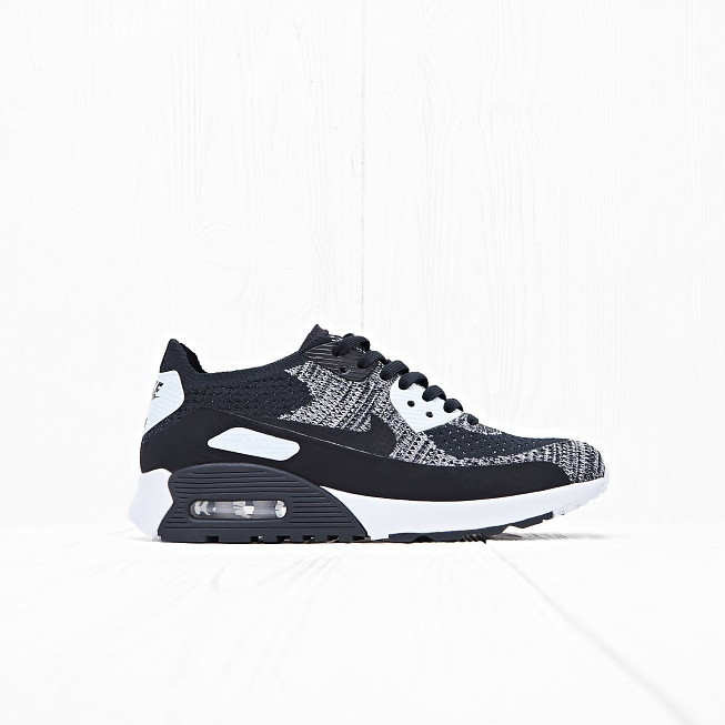 Кроссовки Nike W AIR MAX 90 ULTRA 2.0 FLYKNIT Black/White-Anthracite