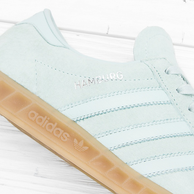 Кроссовки Adidas HAMBURG Vapour Green/Ice Mint/Gum 4 - Фото 4