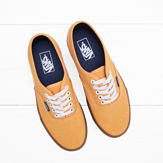 Кеды Vans AUTHENTIC Washed Citrus цена 7c95f345a56d9