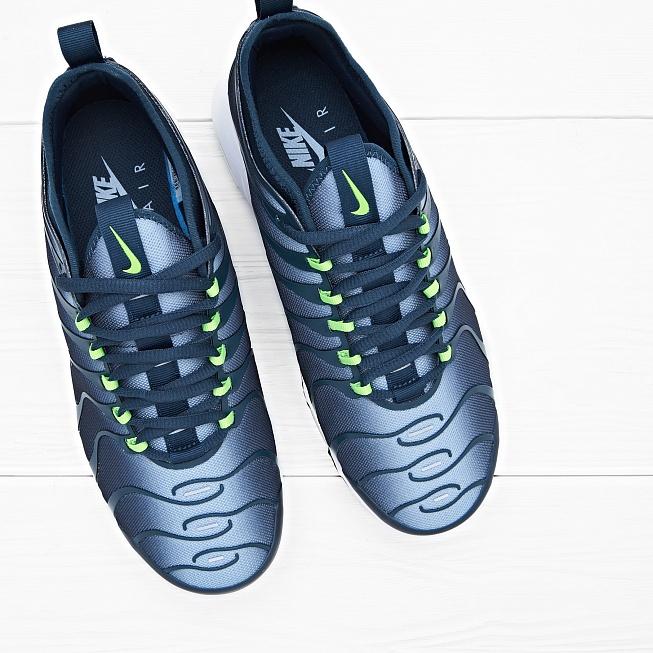 475e1b5e6edd48 Кроссовки Nike AIR MAX PLUS TN ULTRA Binary Blue/Safety Orange-White. Nike