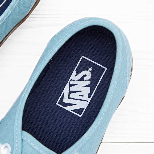 Кеды Vans AUTHENTIC Washed Blue Radiance - Фото 4