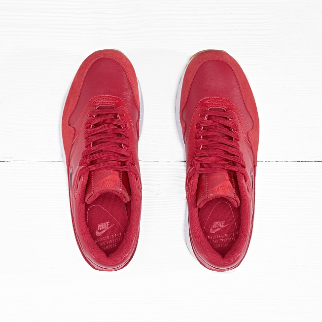 Кроссовки Nike W AIR MAX 1 PRM SC Gym Red/Gym Red-Speed Red - Фото 4