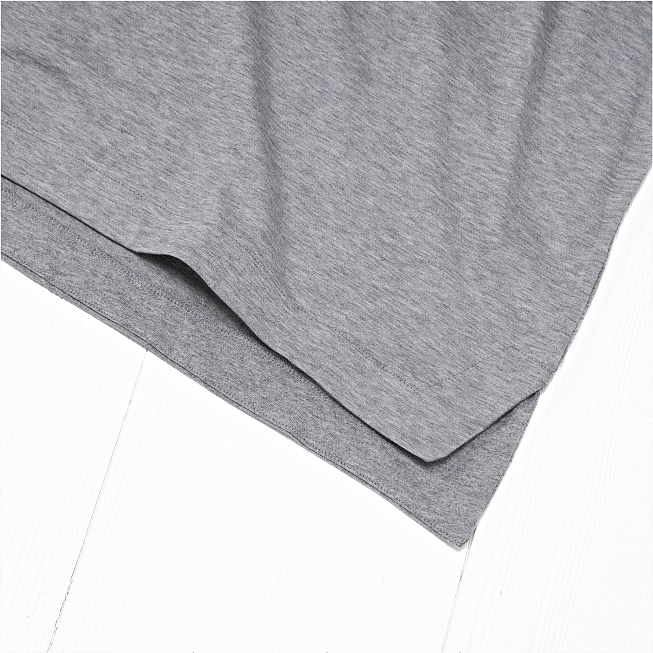 Футболка Nike MODERN TOP SS KNT Grey - Фото 4