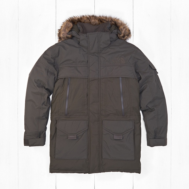 Парка The North Face M MCMURDO PARKA 2 EU Green