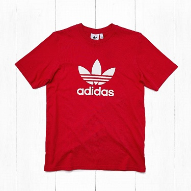 Футболка Adidas TREFOIL Red