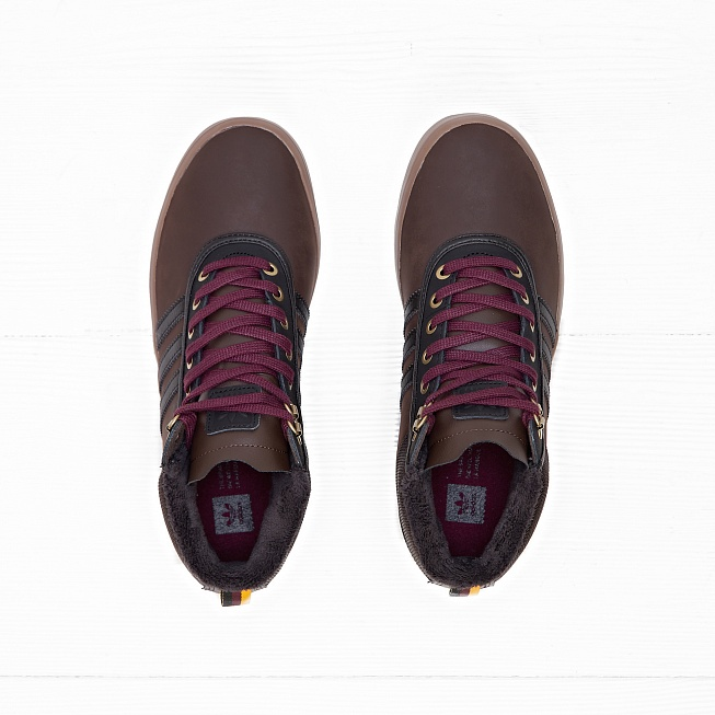 Кеды Adidas ADI-TREK Brown/Black/Light Maroon - Фото 3