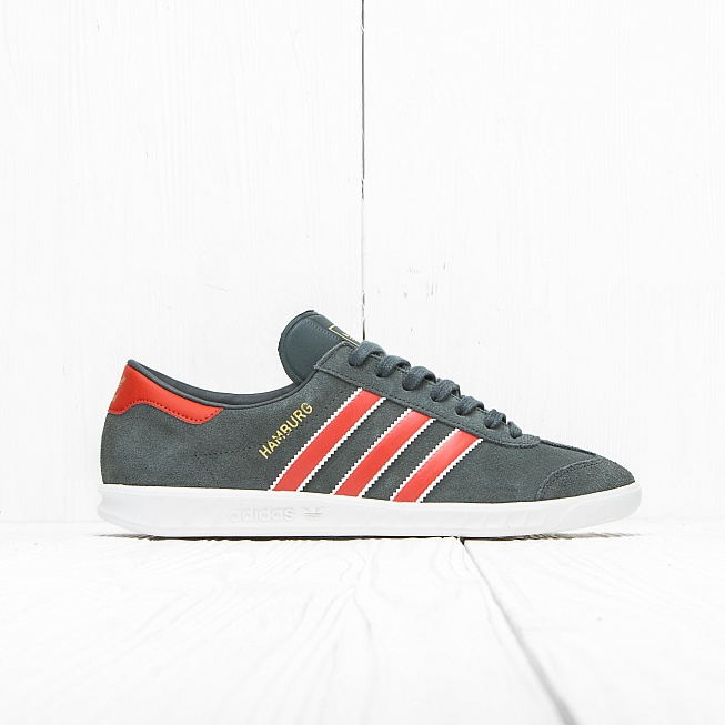 Кроссовки Adidas HAMBURG Utility Ivy F16/Craft Chili F16/Gold Met