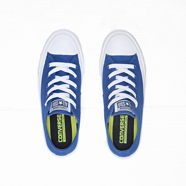 Кеды Converse CHUCK TAYLOR ALL STAR II LOW TOP Sodalite Blue - Фото 3