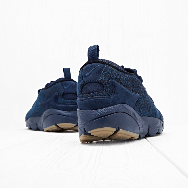 Кроссовки Nike AIR FOOTSCAPE NM PRM JCRD Dark Blue/Dark Blue - Фото 2