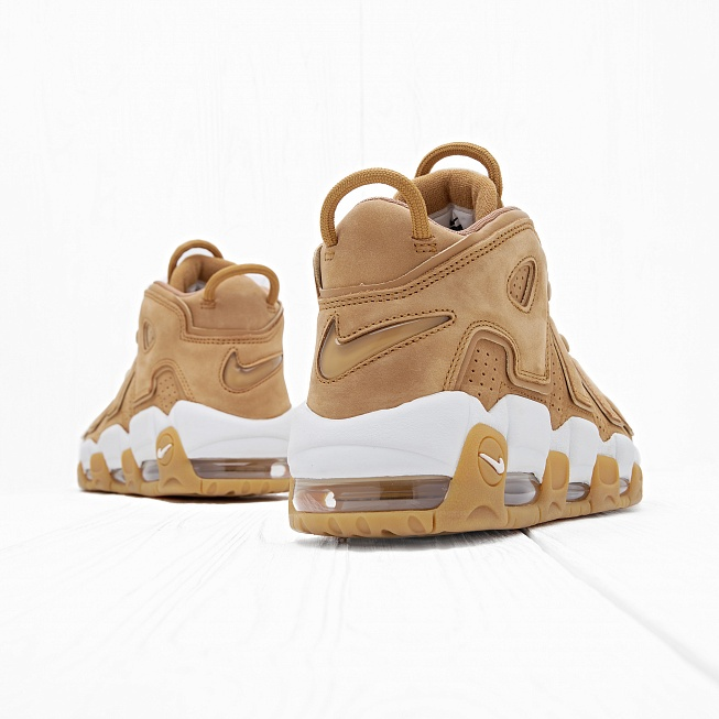 Кроссовки Nike AIR MORE UPTEMPO 96 PRM (FLAX) Flax/Flax-Gum Light Brown - Фото 1