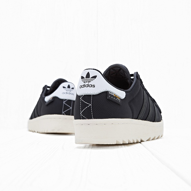 Кроссовки Adidas SUPERSTAR 80s CORDURA Core Black/Core Black/Chalk White - Фото 1