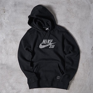 Толстовка Nike SB REFLECTIVE ICON PO FLEECE Black/Grey