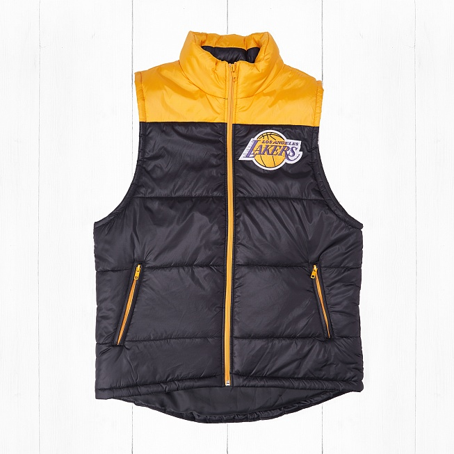 Жилет Mitchell & Ness LOS ANGELES LAKERS WINNING TEAM VEST Black/Yellow
