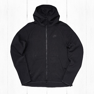 Толстовка Nike M TECH FLEECE FZ Black