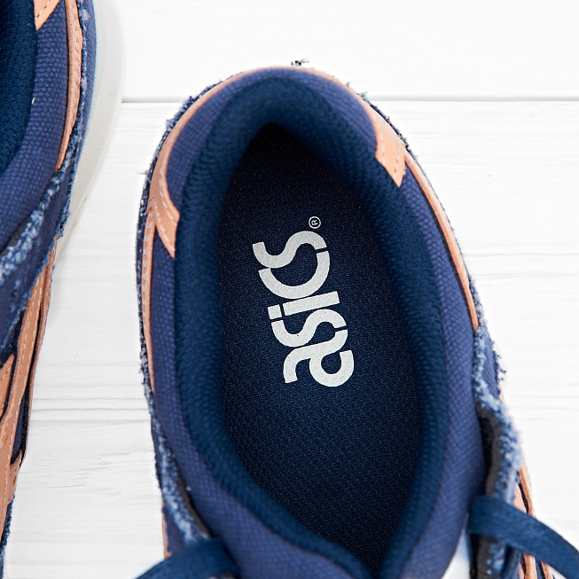 Кроссовки Asics Tiger GEL-LYTE III Indigo Blue/Tan - Фото 3