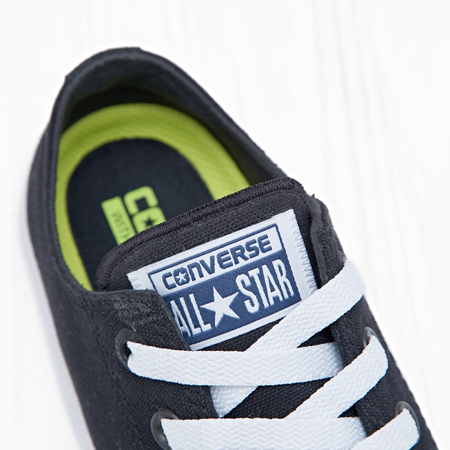 Кеды Converse CHUCK TAYLOR ALL STAR II LOW TOP Black/White/Navy - Фото 4