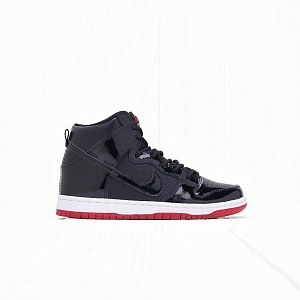 Кроссовки Nike SB ZOOM DUNK HIGH TR QS Black/Black-White-Varsity Red