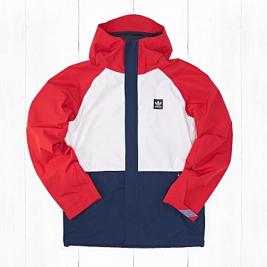 Куртка Adidas RIDING Chalk White/Scarlet/Collegiate Navy