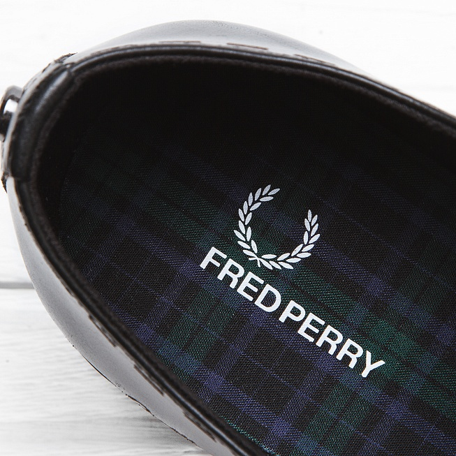 Ботинки Fred Perry NEWBURGH Black - Фото 5