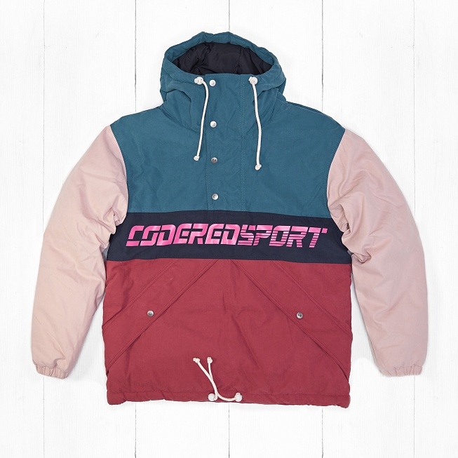 Анорак CodeRed Sport SUPERBLASTER 2 Green Sea/Light Pink/Boreaux-Ink