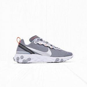 Кроссовки Nike REACT ELEMENT 55 Cool Grey/Metallic Silver-Hyper Crimson