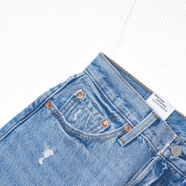 Джинсы Levis 501 SKINNY Cant Touch This - Фото 2