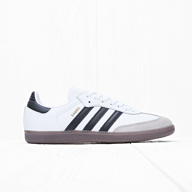 Кроссовки Adidas SAMBA OG Running White/Core Black/Gum