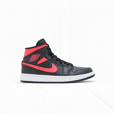 Кроссовки Jordan W AIR JORDAN 1 MID Black Siren Red