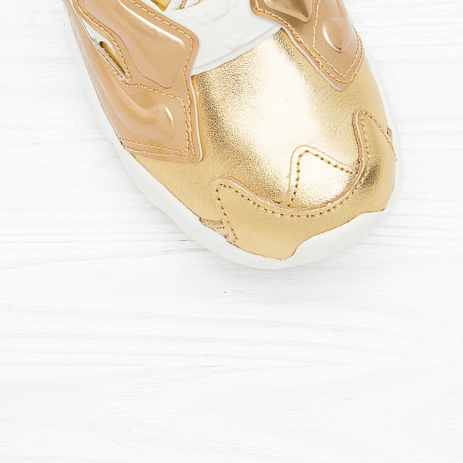 Кроссовки Reebok INSTA PUMP FURY CELEBRATE Reebok Brass/Chalk - Фото 4