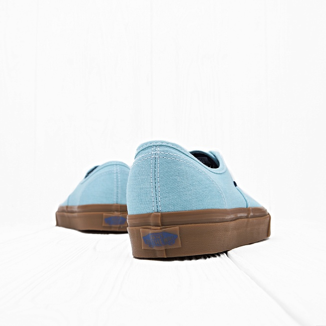 Кеды Vans AUTHENTIC Washed Blue Radiance - Фото 1