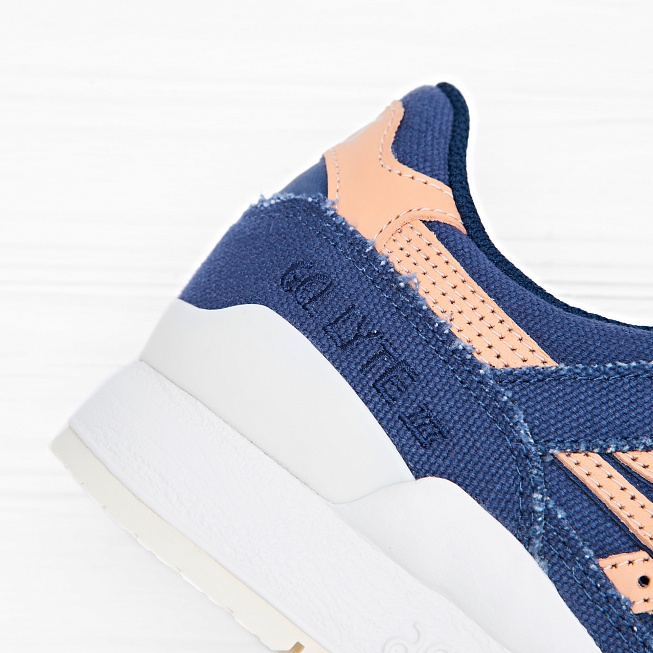 Кроссовки Asics Tiger GEL-LYTE III Indigo Blue/Tan - Фото 1