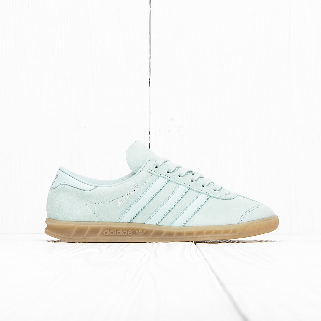 Кроссовки Adidas HAMBURG Vapour Green/Ice Mint/Gum 4