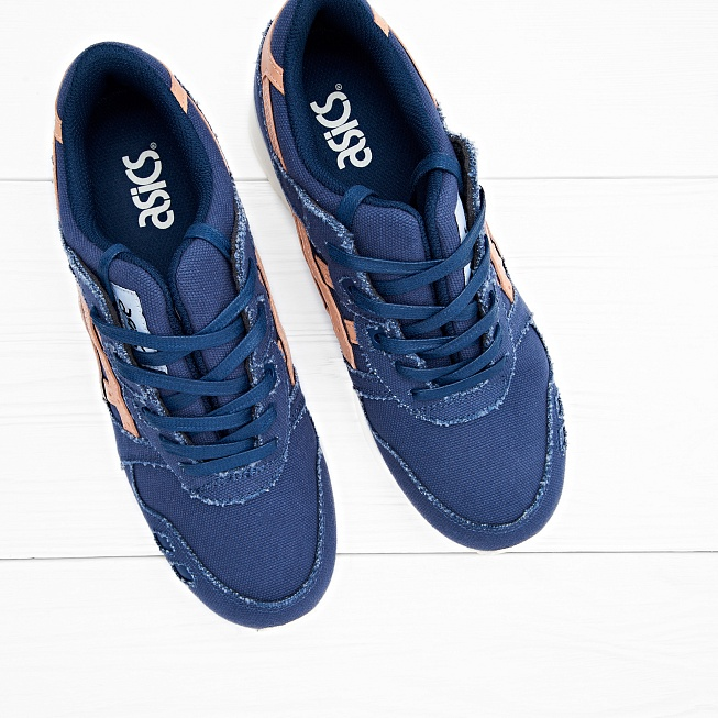 Кроссовки Asics Tiger GEL-LYTE III Indigo Blue/Tan - Фото 4