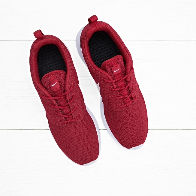 Кроссовки Nike ROSHE ONE Gym Red/White-Black - Фото 1