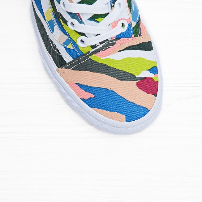 Кеды Vans OLD SKOOL Multi/Grey Ridge - Фото 4