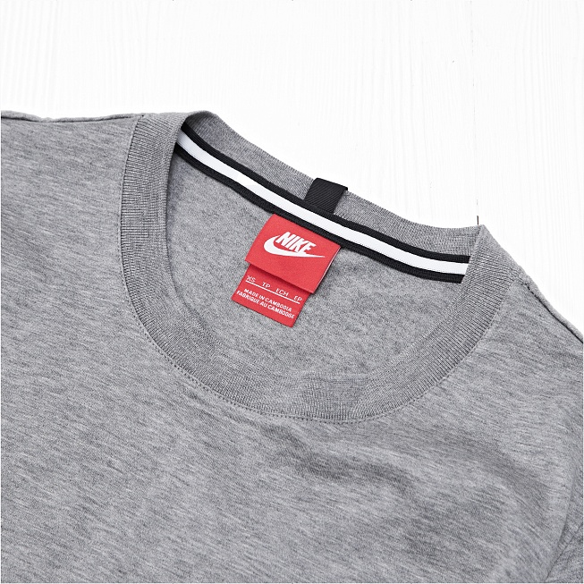 Футболка Nike MODERN TOP SS KNT Grey - Фото 2