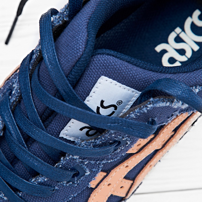Кроссовки Asics Tiger GEL-LYTE III Indigo Blue/Tan - Фото 2