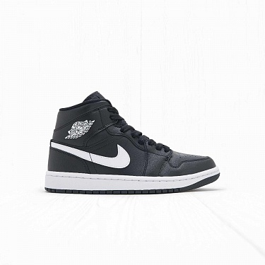 Кроссовки Jordan W AIR JORDAN 1 MID Black White