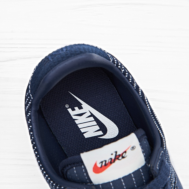 Кроссовки Nike W PRE MONTREAL RACER VNTG PRM Obsidian Gum Med Brown - Фото 6
