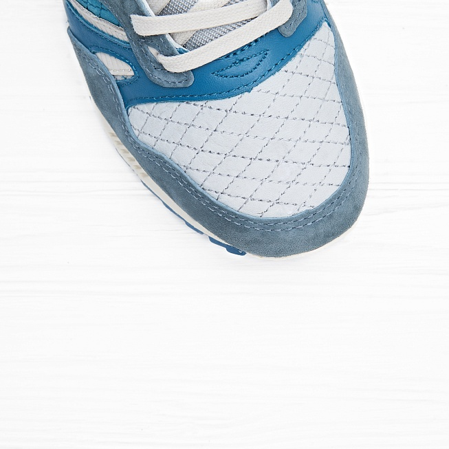 Кроссовки Saucony GRID SD Quilted Blue/Grey - Фото 4