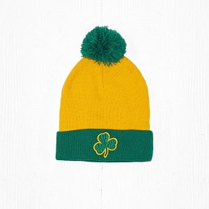 Шапка M&N NBA BOSTON CELTICS Yellow/Green