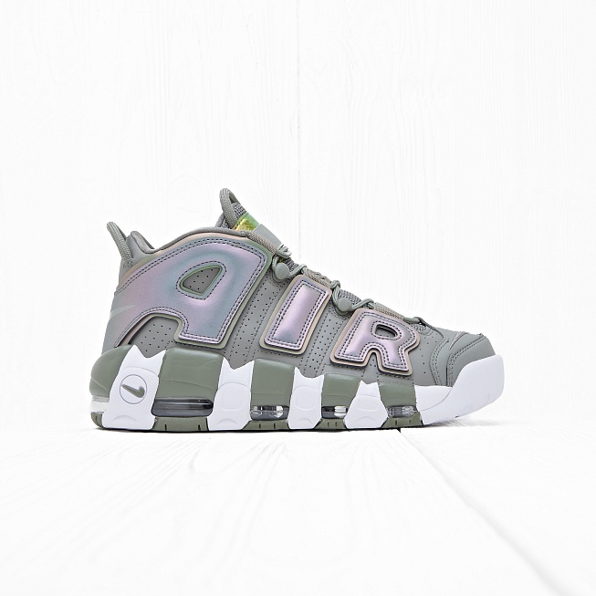 Кроссовки Nike W AIR MORE UPTEMPO Dark Stucco/White/Black