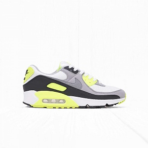 Кроссовки Nike AIR MAX 90 White/Particle Grey-Volt-Black