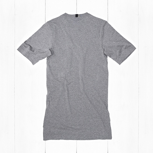 Футболка Nike MODERN TOP SS KNT Grey - Фото 1